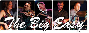 The Big Easy montage of musicians on stage